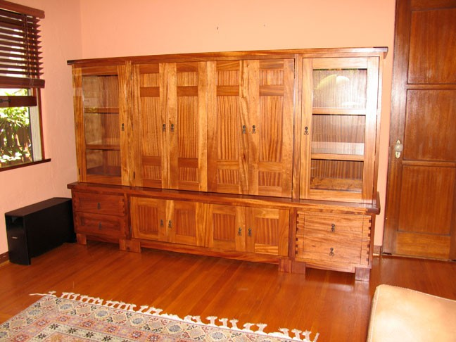 Craftsman's Style Entertainment Center