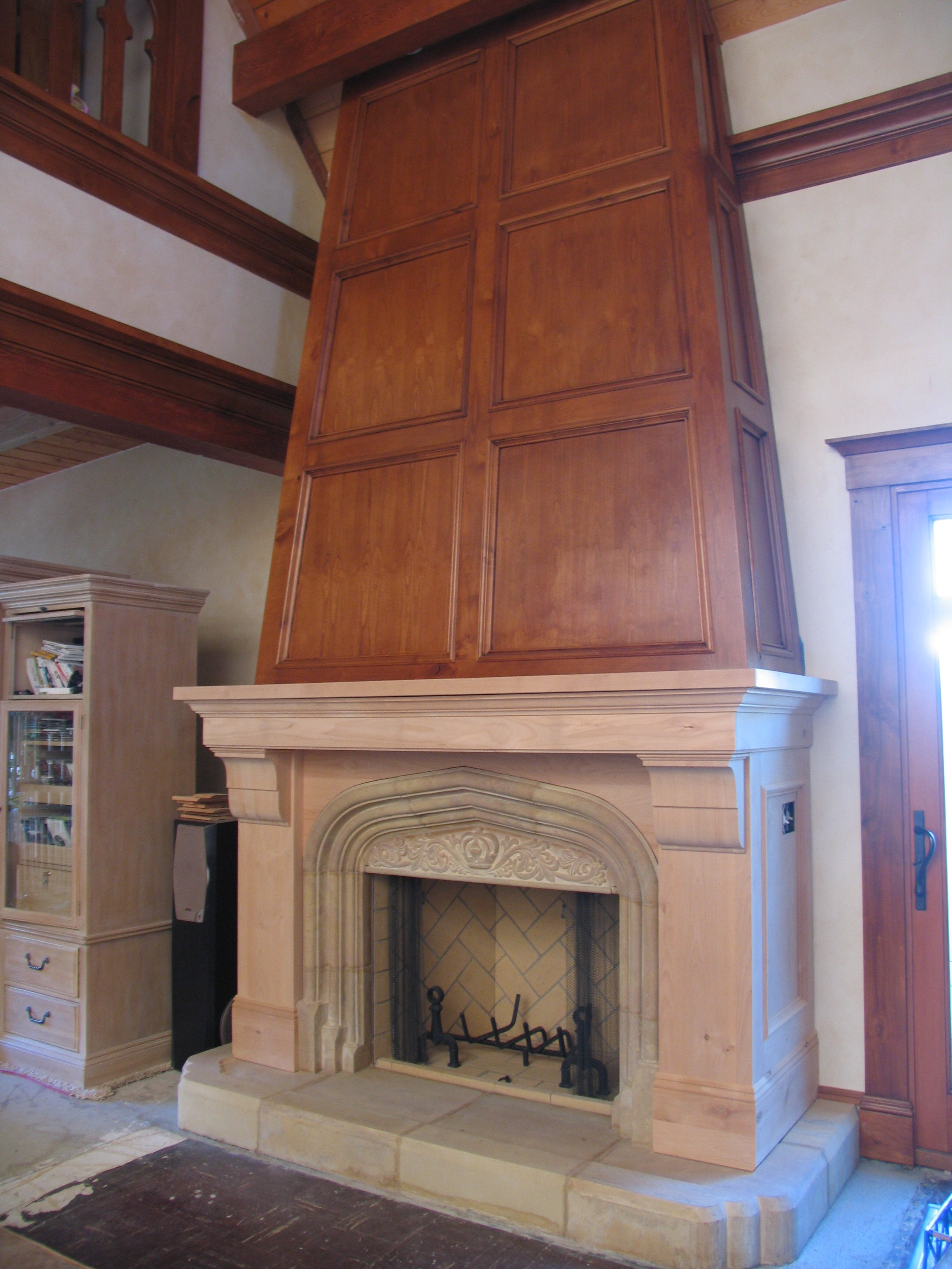 Gothic Revival Fireplace